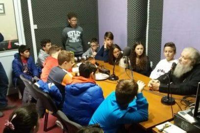 Ο Σεβ. Ποιμενάρχης μας κ.κ. Δαμασκηνός μιλάει στους μαθητές του 19ου Δημοτικού Σχολείου!