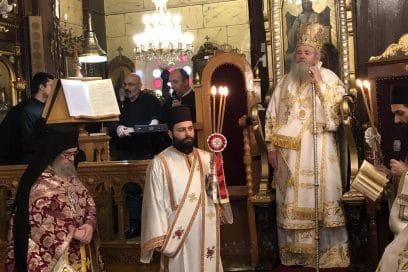 Είμαστε σε ζωντανή σύνδεση με τον Ιερό Ναό Ευαγγελιστρίας Χαλέπας!