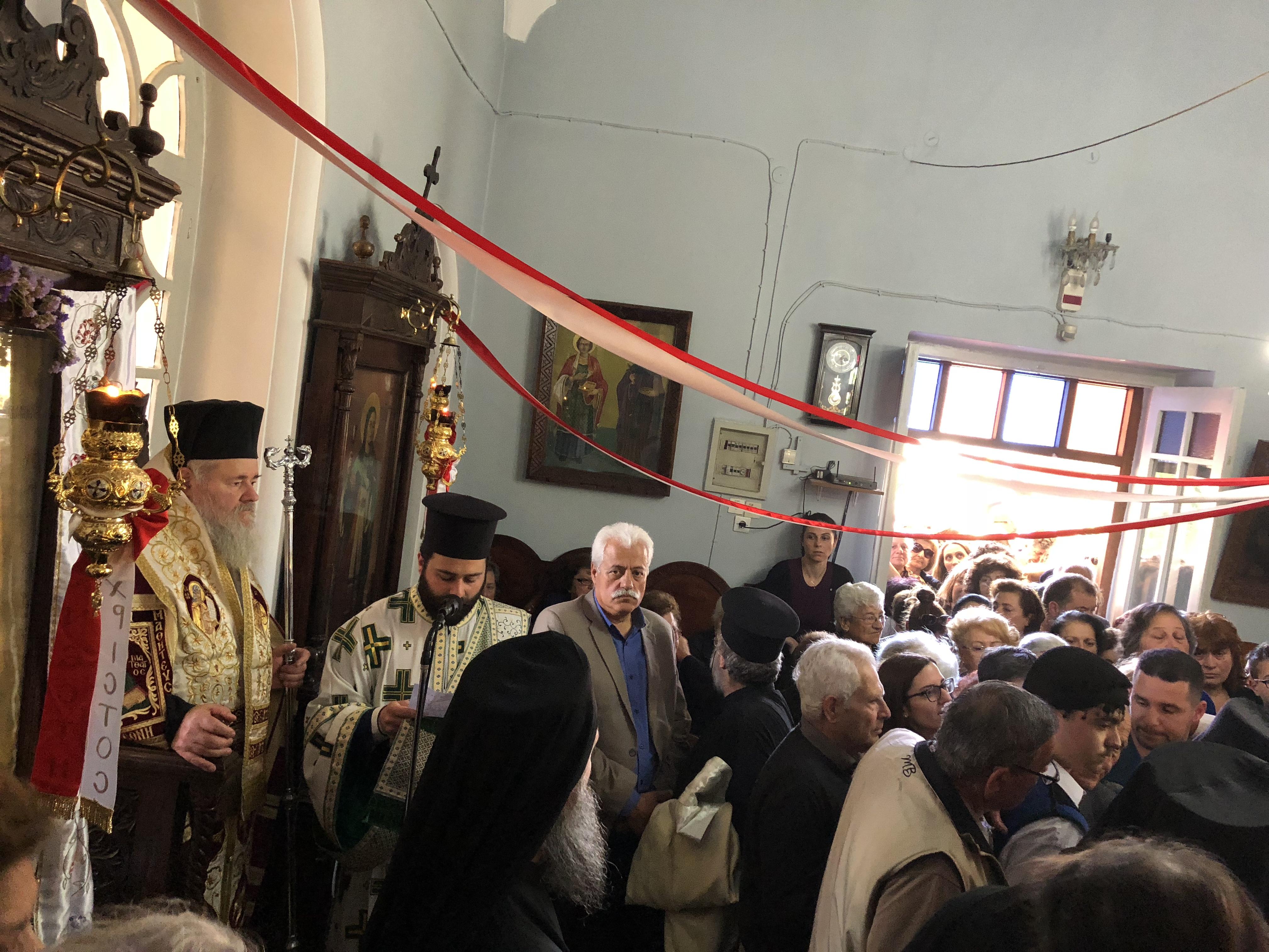Υποδοχή ιερού Λειψάνου Αγίας Μαρίας της Μαγδαληνής στον ομώνυμο Ναό στη Χαλέπα!