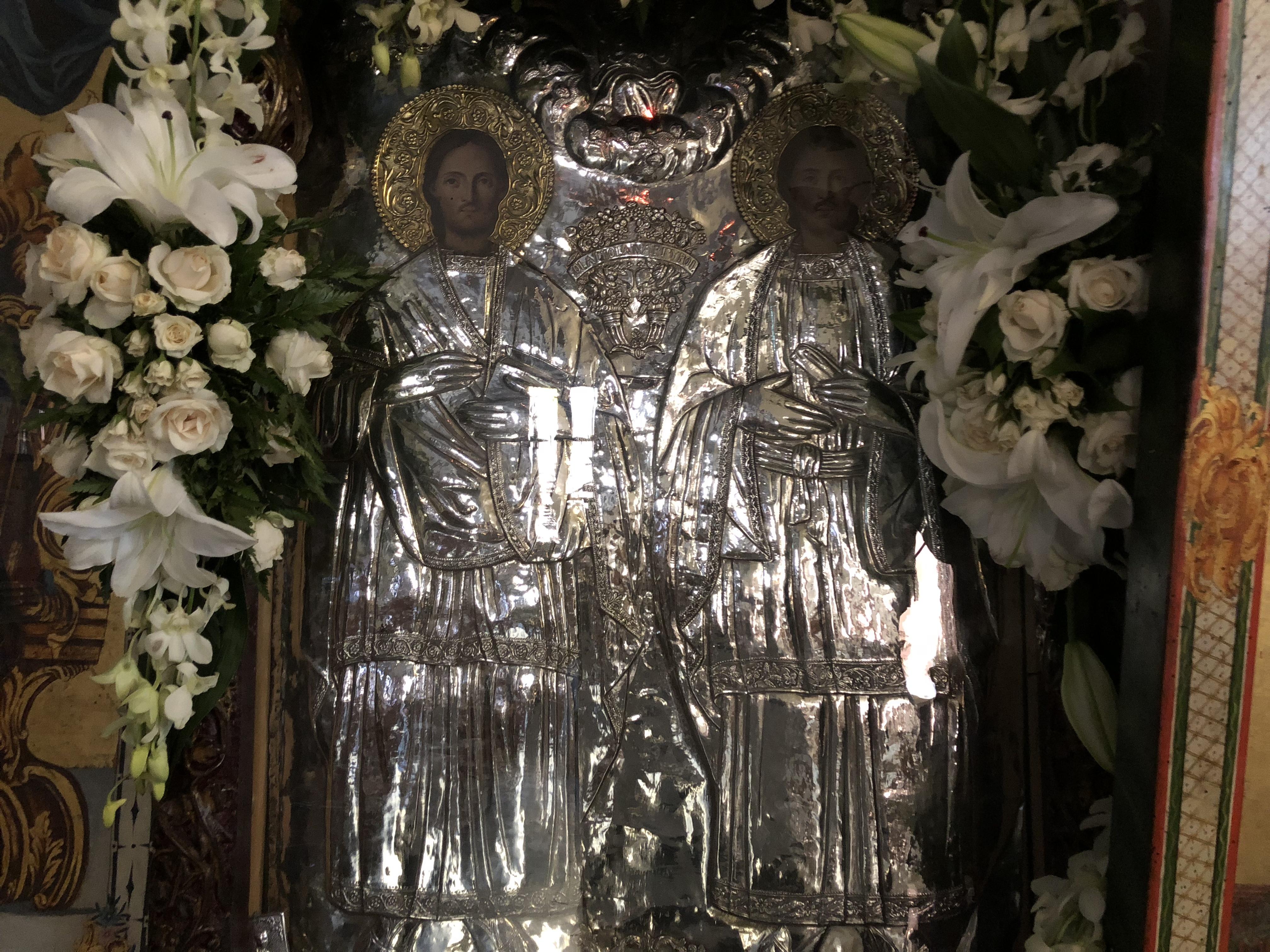 Ζωντανή σύνδεση με τον Ιερό Ναό Αγίων Αναργύρων