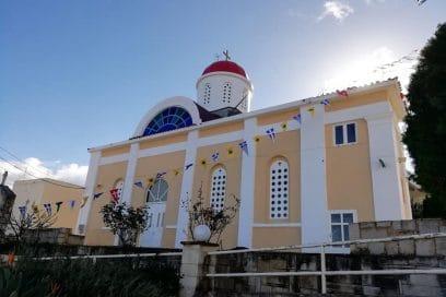 Ζωντανή σύνδεση με τον Ιερό Ναό Αγίου Σπυρίδωνος στην Αγία Μαρίνα