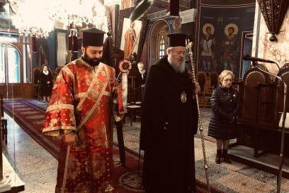 Αρχιερατική Θεία Λειτουργία στον Άγιο Νικόλαο Σούδας