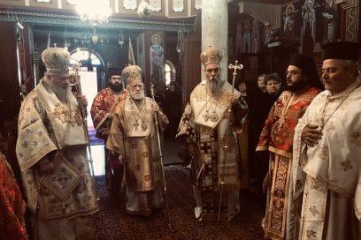Αρχιερατικό Συλλείτουργο στον Άγιο Σπυρίδωνα στην Κίσαμο