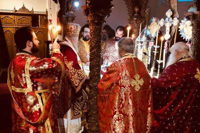 Αρχιερατική Θεία Λειτουργία στην Ιερά Μονή Αγίας Τριάδος των Τζαγκαρόλων