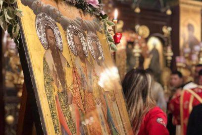 Σε ζωντανή σύνδεση η Αρχιερατική Θεία  Λειτουργία για τους Τρεις Ιεράρχες