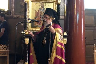Πολιαρχιερατικό Συλλείτουργο στον Άγιο Χαράλαμπο Λενταριανών