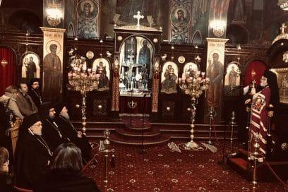 Πολιαρχιερατικός Εσπερινός στον Άγιο Χαράλαμπο Λενταριανών