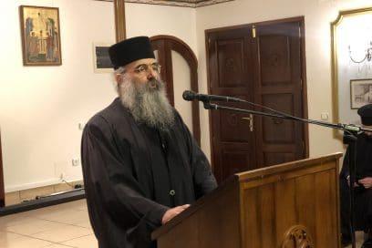 Σε ζωντανή σύνδεση η ομιλία για την Υπεραγία Θεοτόκο