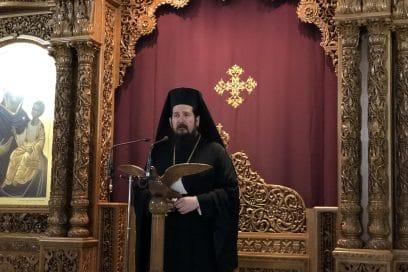 Ο Πρωτοσύγκελλος Λαρίσης στον Κατανυκτικό Εσπερινό στον Ιερό Ναό Αγίων Πέτρου & Παύλου Χανίων