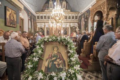 Ζωντανή σύνδεση με τον Ι.Ναό Αγίου Παντελεήμονος στο Μουζουρά Ακρωτηρίου