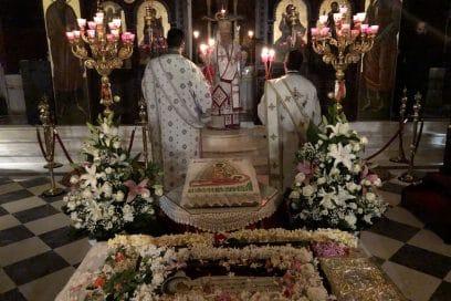 Ζωντανή σύνδεση με τον Ιερό Ναό Αγίου Χαραλάμπους Λενταριανών