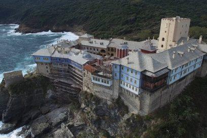 Αγρυπνία στην Ιερά Μονή Παντοκράτορος Αγίου Όρους